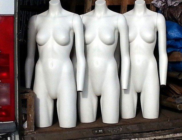 panny na oblečení