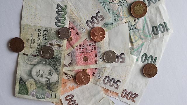uspořené peníze
