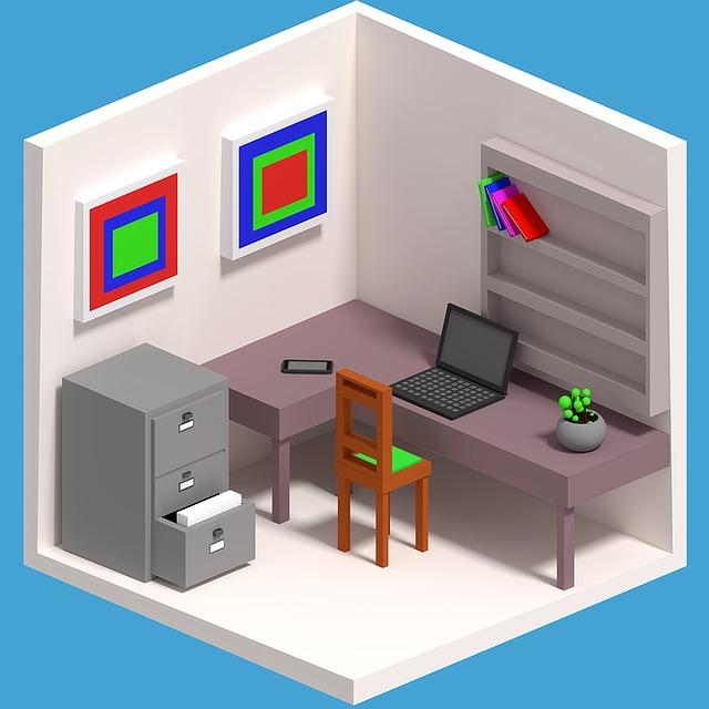 maličká kancelář