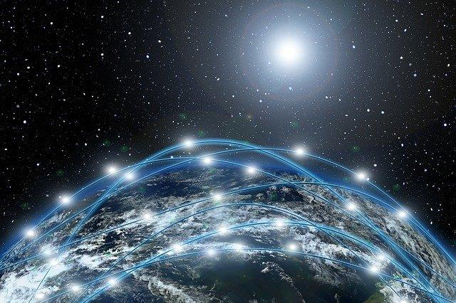 síť ve vesmíru