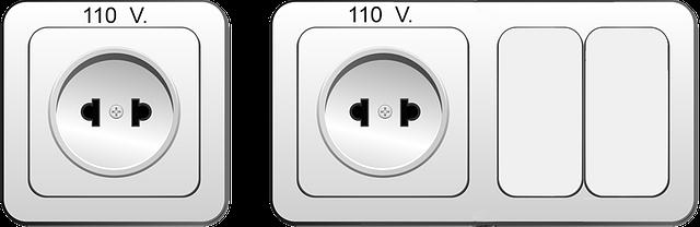 vypínač se zásuvkou