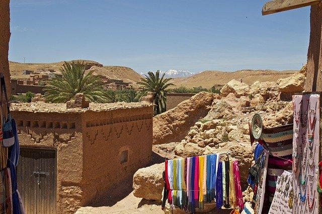 Znáte pohoří Atlas nedaleko Sahary?