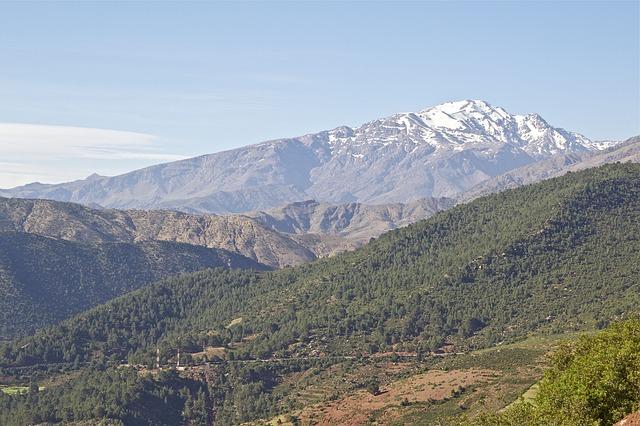 maroko hory