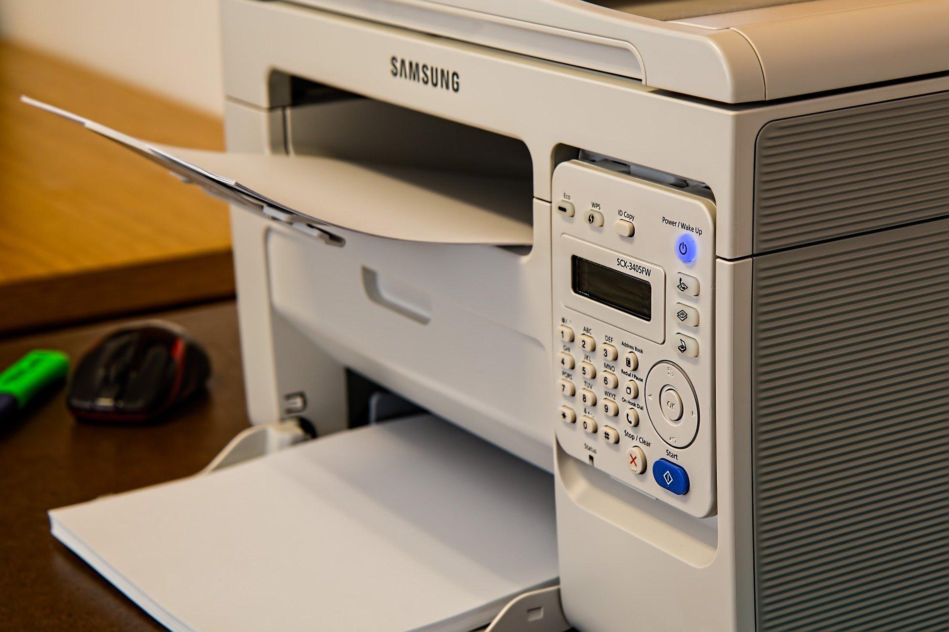 kancelářská tiskárna