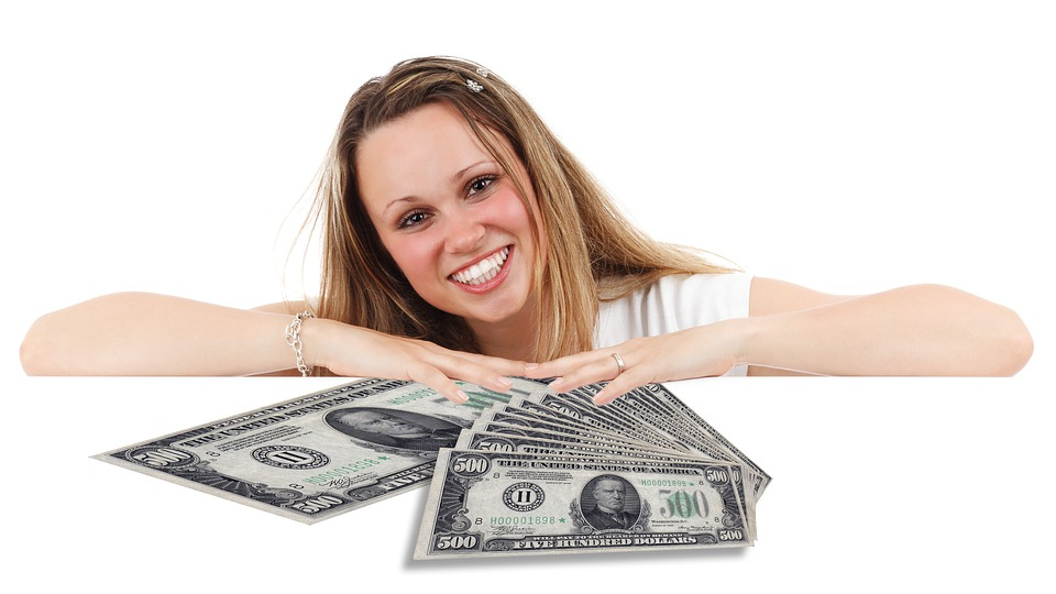 slečna a dolary